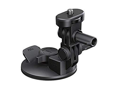 Sony VCT-SCM1 Saugnapf-Halterung (Zubehör für glatte Oberflächen, drei bewegliche Elemente, geeignet für Action Cam FDR-X3000, FDR-X1000, HDR-AS300, HDR-AS200, HDR-AS50) schwarz