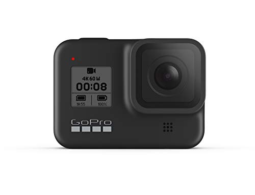 GoPro HERO8 Actioncam, Black - Wasserdichte 4K-Digitalkamera mit Hypersmooth-Stabilisierung, Touchscreen und Sprachsteuerung - Live-HD-Streaming