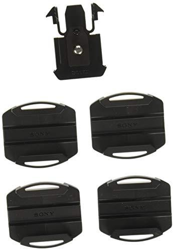 Sony VCT-AM1 Klebehalterung (Zubehör Montageaufsatz, gerade Klebehalterung, gebogene Klebehalterung, geeignet für Action Cam FDR-X3000, FDR-X1000, HDR-AS300, HDR-AS200, HDR-AS50) schwarz
