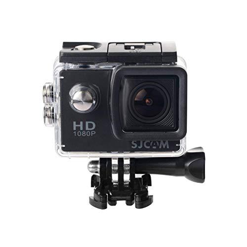 SJCam SJ4000 Sport-Videokamera (Full HD, 2 Zoll LCD, wasserdicht bis 30 m), Schwarz (generalüberholt)