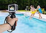 Rollei Actioncam 540 - WiFi Actionkamera mit 4k Video-Auflösung und Weitwinkelobjektiv, 2' LCD-Display, Loop-, Zeitraffer-, Slowmotion-Funktion, 16 MP Fotofunktion, bis 40 m wasserdicht
