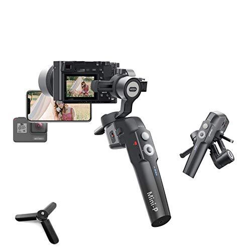 MOZA Mini-P Gimbal Stabilizer, kompatibel mit Smartphones, Action-Kameras, Kompaktkameras und spiegellosen Lichtkameras