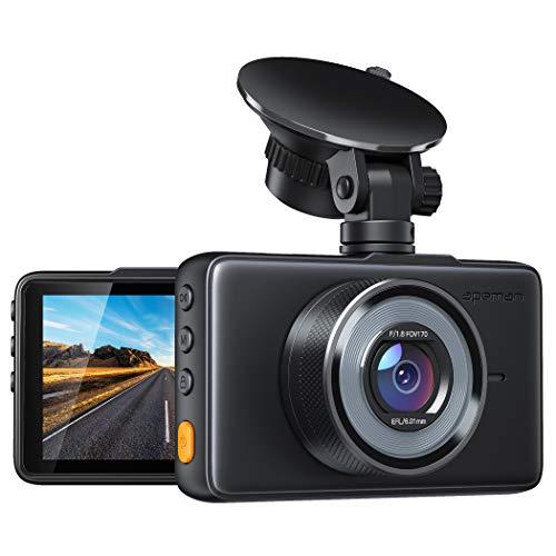 APEMAN Dashcam 1080P Full HD DVR Autokamera 3 Zoll LCD-Bildschirm 170 ° Weitwinkel, G-Sensor, WDR, Parkmonitor, Loop-Aufnahme, Bewegungserkennung,Nachtsicht