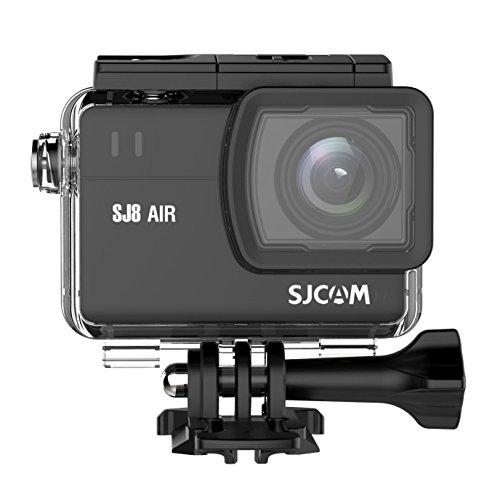 SJCAM SJ8 AIR Sportkamera, 2K, 30 m, Touchscreen, Action-Kamera mit Akku und externem Ladegerät, USB-4 WLAN, 1200 mAh