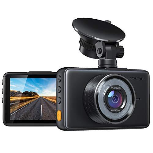 APEMAN Dashcam 1080P Full HD DVR Autokamera 3 Zoll LCD-Bildschirm 170 ° Weitwinkel, G-Sensor, WDR, Parkmonitor, Loop-Aufnahme, Bewegungserkennung, Nachtsicht