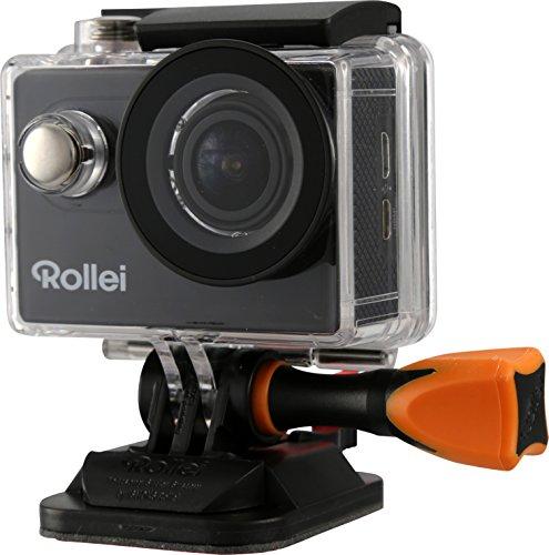Rollei Actioncam 425 - Leistungsstarker WiFi Action-Camcorder mit 4K/2.7K Videoauflösung und Full HD, inkl. Handgelenk-Fernbedienung, Unterwassergehäuse - Schwarz*