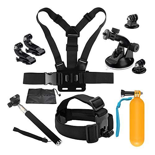 D&F 10-1 Sport Kamera Zubehör Kit für Gopro Hero 7/6/5/4 / Hero (2018) SJCAM YI Crosstour AKASO Campark und andere Action-Kamera