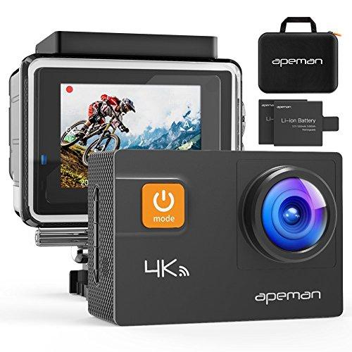 APEMAN Action Cam 4K WiFi 20MP Unterwasser Kamera wasserdicht 30M Camcorder*