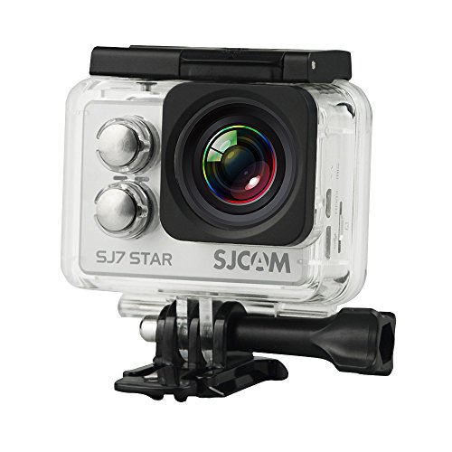 SJCAM SJ7 STAR SLV 'STAR 4K NATIV' Actionkamera 16MP Touchscreen Sony Sensor WLAN HDMI Wasserdicht silber