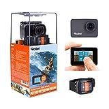 Rollei Actioncam 550 Touch - WiFi Action Cam mit 2' Touchdisplay, 4k Video Auflösung, ultra schnelle 0,5 Sekunden Fotointervallaufnahmen mit 160° Super-Weitwinkel-Objektiv, bis 40 m wasserdicht