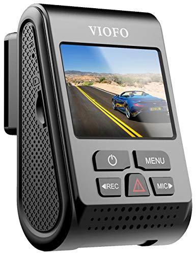 VIOFO A119 V3 Dashcam Autokamera 2560x1600P Quad HD+ IMX355 5MP Sensor Auto Kamera 140-Grad Weitwinkel 24 Std. Parkmodus GPS Logger, Bewegungserkennung, G-Sensor, Zeitraffer, WDR