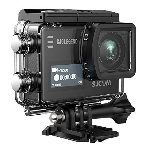 'SJCAM Action Legend–Camcorder 4K (WiFi, 16MP, Touchscreen 2.0, wasserdicht 30m) schwarz